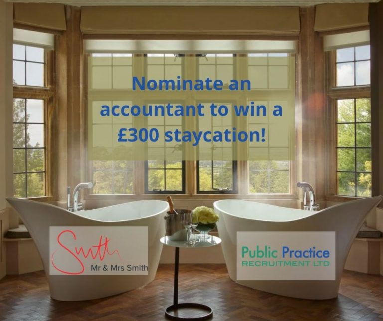 Nominate An Accountant competition