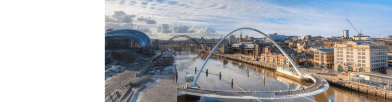 Newcastle Gateshead Millenium Bridge