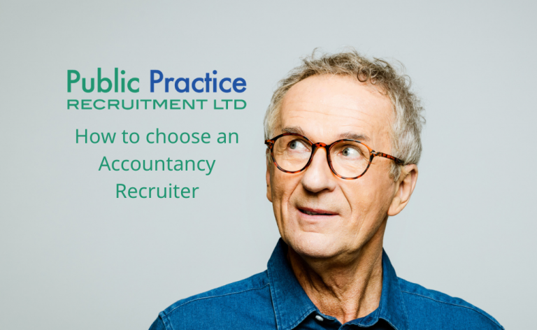 man wondering how to choose an accountancy recruiter