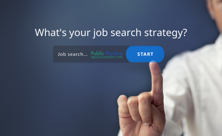hand adding job search strategy into laptop toolbar