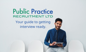 Asian man sitting on interview chair